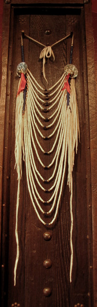 Crow Loop Necklace in Shadow Box